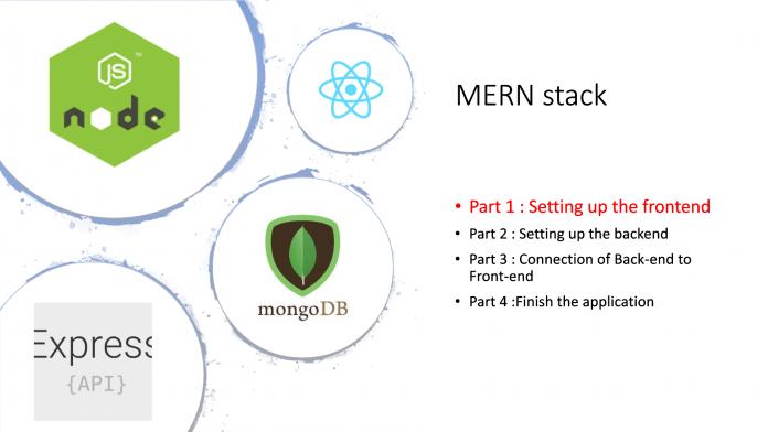 MERN stack application