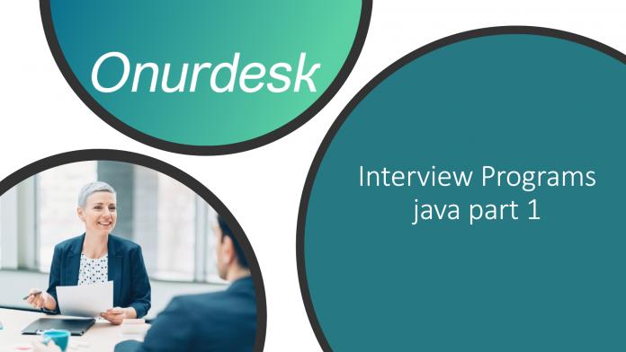 basic interview programs