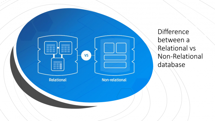 difference between a Relational vs Non-Relational database