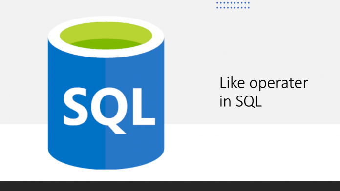 How to use LIKE operator in SQL in 3 steps