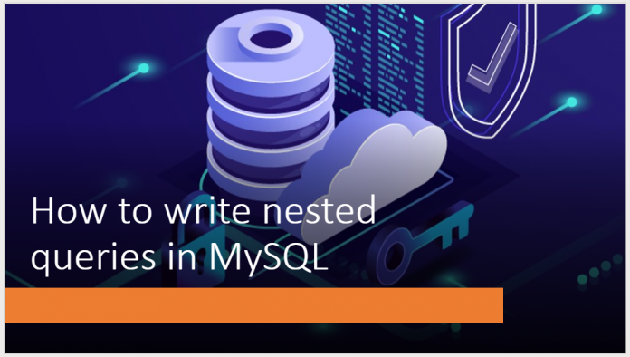 How to write nested queries in MySQL