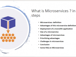 What is Microservices in 9 steps.