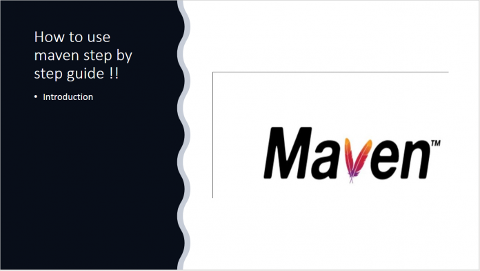 How to use maven step by step guide
