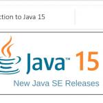 Introducing Java 15
