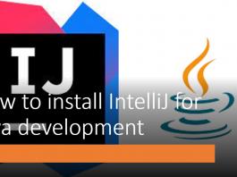 How to install IntelliJ for Java development